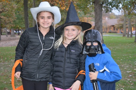 Cowboy, Witch and Darth Vador